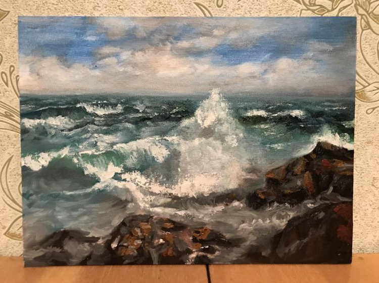 Unknown artist. Sea