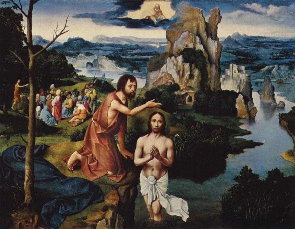 Иоахим Патинир. Крещение