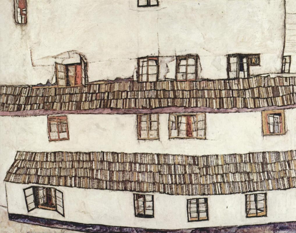 Egon Schiele. Windows