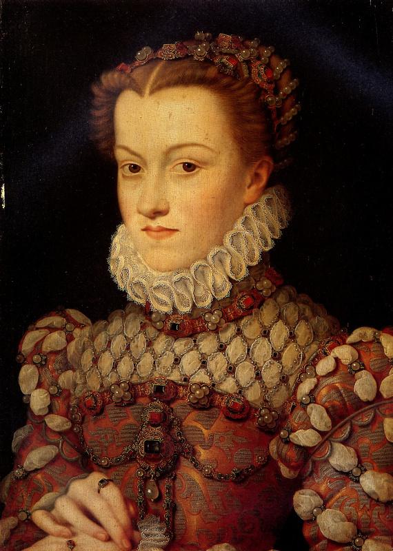 Франсуа Клуэ. Елизавета Австрийская — королева Франции