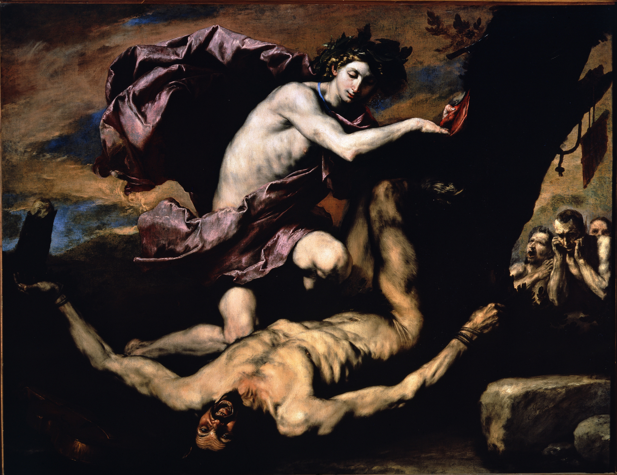 Хосе де Рибера. Аполлон и Марсий