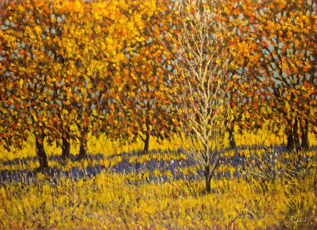 Valery Levchenko. № 568 Autumn landscape.