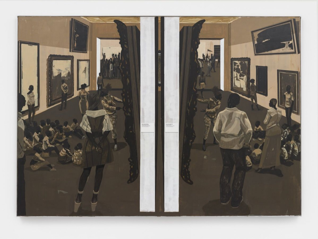 Kerry james marshall. Untitled (Underpainting)
