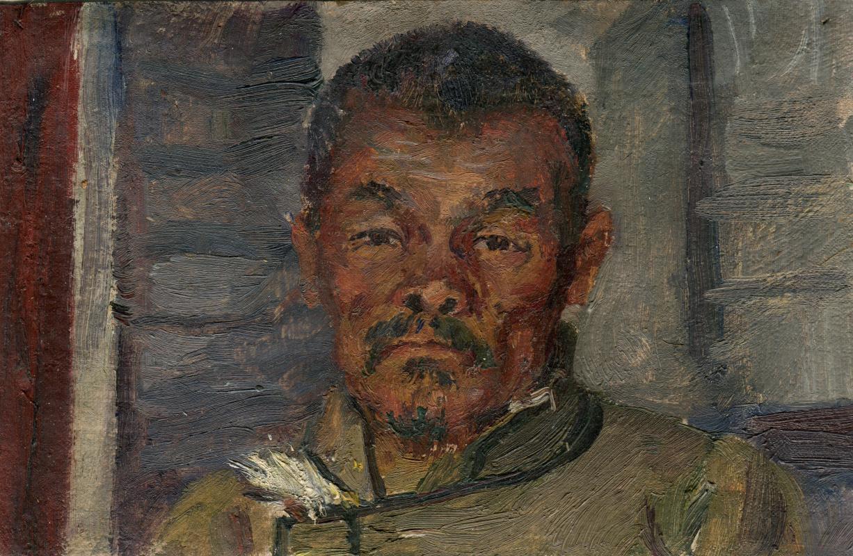 Vasily Fadeevich Demin. Portrait of a Tuvinian
