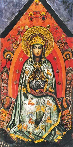 Nicholas Roerich. The Queen Of Heaven