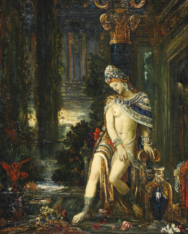 Gustave Moreau. Susanna and the Elders