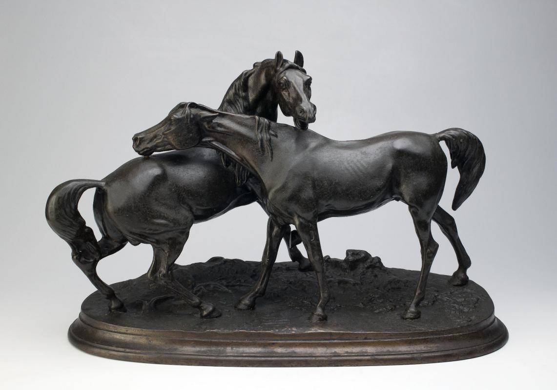 Peter Karlovich Klodt von Jurgensburg. Free horses