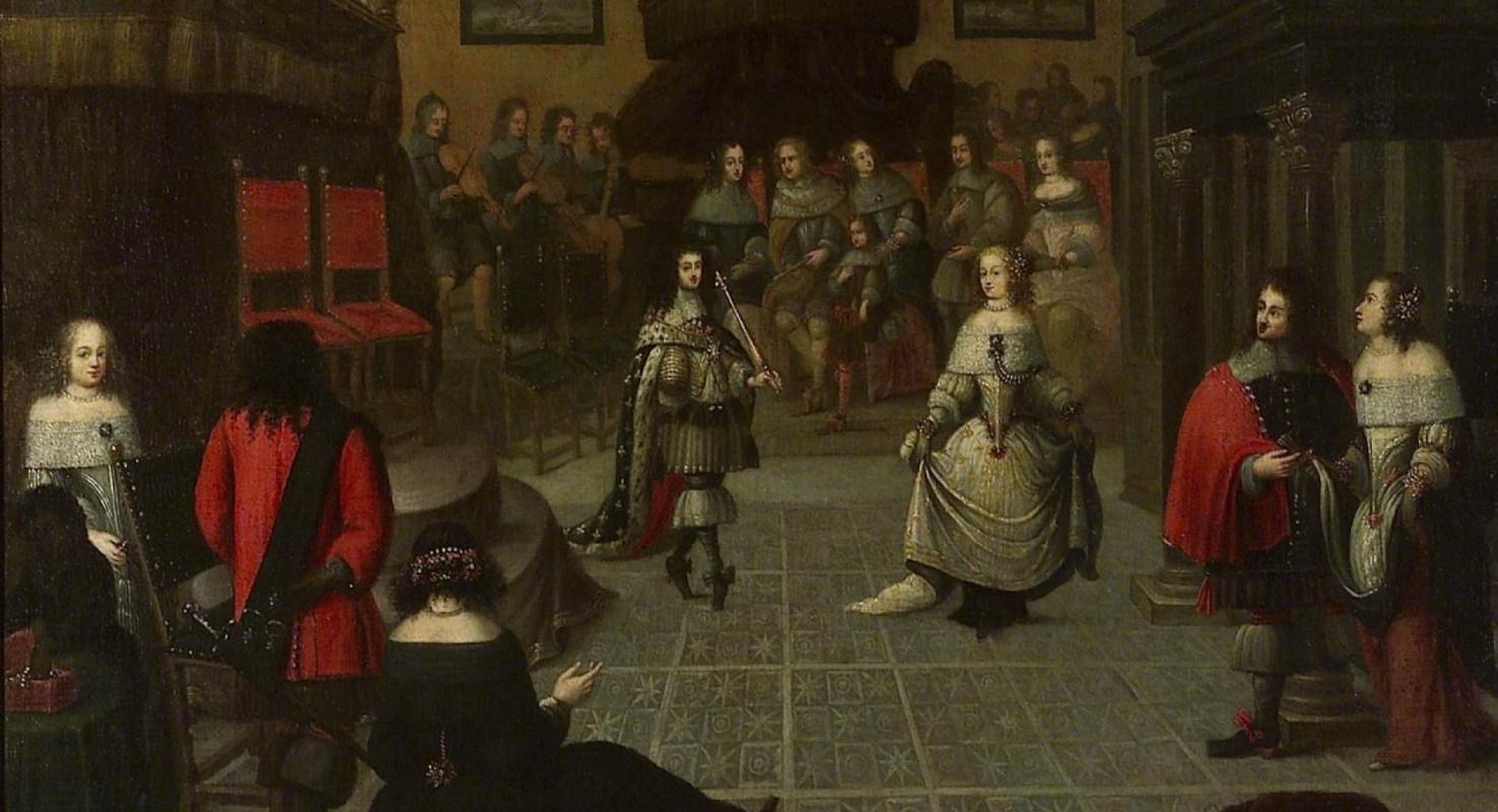 Гонзалес  Кокс. Карл ІІ на балу, Гаага, 1660 (?)
