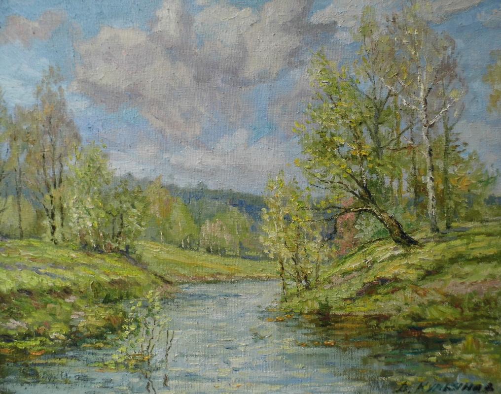 Victor Vladimirovich Kuryanov. Spring shores