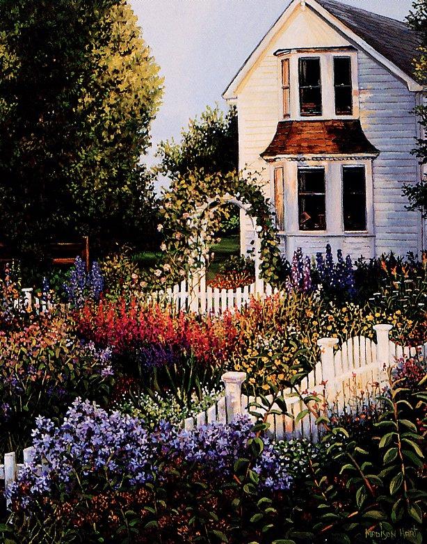 Мэдисон Харт. Уютный дворик 4