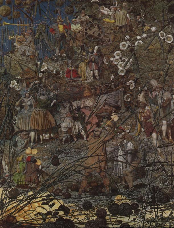 Ричард Дадд. Master swing of a fabulous woodcutter