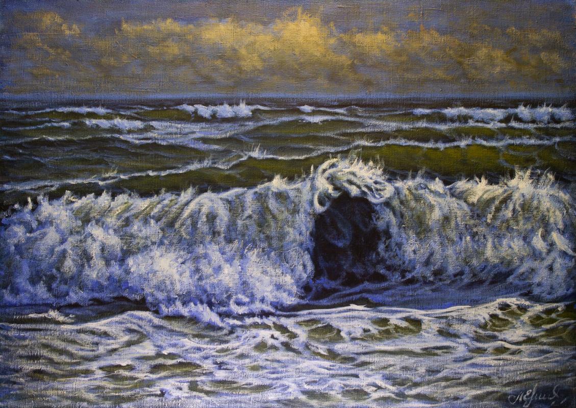 Valery Levchenko. № 611  Морской пейзаж.
