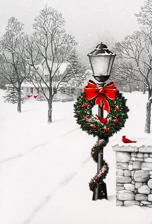 М В Шелтон. Рождество