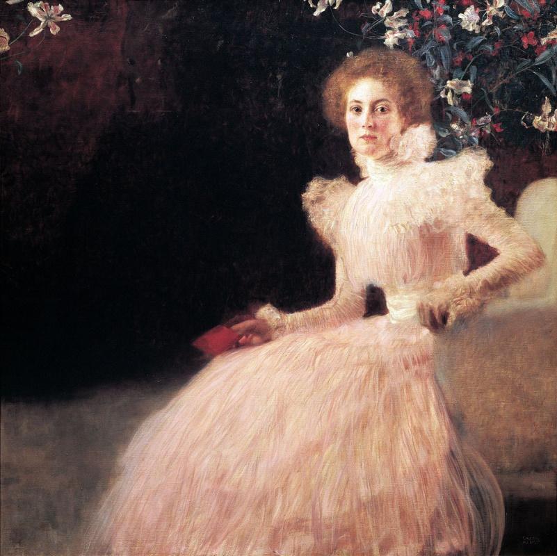 Густав Климт. Портрет Сони Книпс II