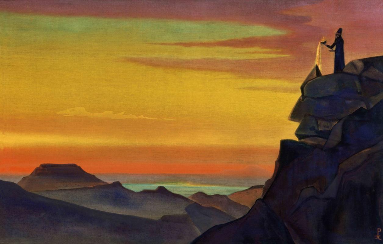 Nicholas Roerich. Zarathustra