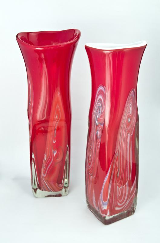 Декоративные вазы.