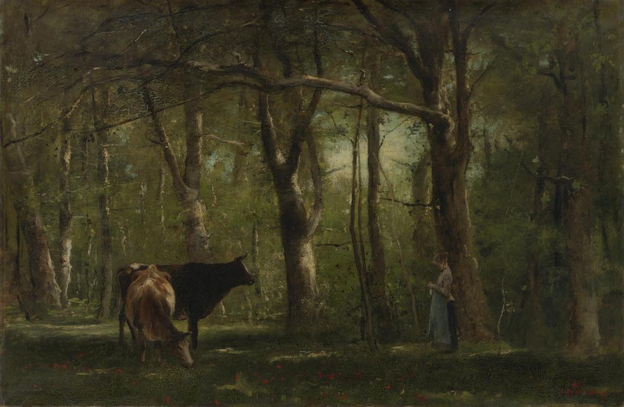 Михай Либ Мункачи. Пастушка в лесу