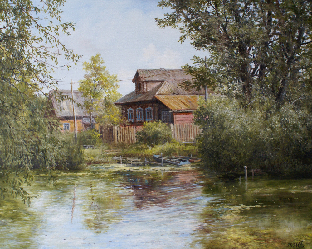 Сергей Владимирович Дорофеев. Домик у реки