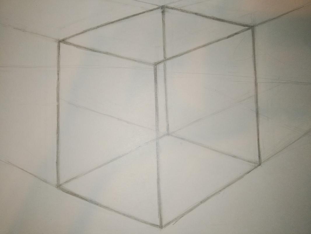 Zina Vladimirovna Parisva. Cube