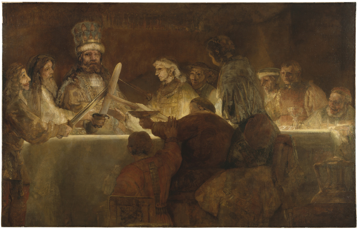 Rembrandt Harmenszoon van Rijn. Conspiracy of Batalov (the Conspiracy of Claudius Civilis)