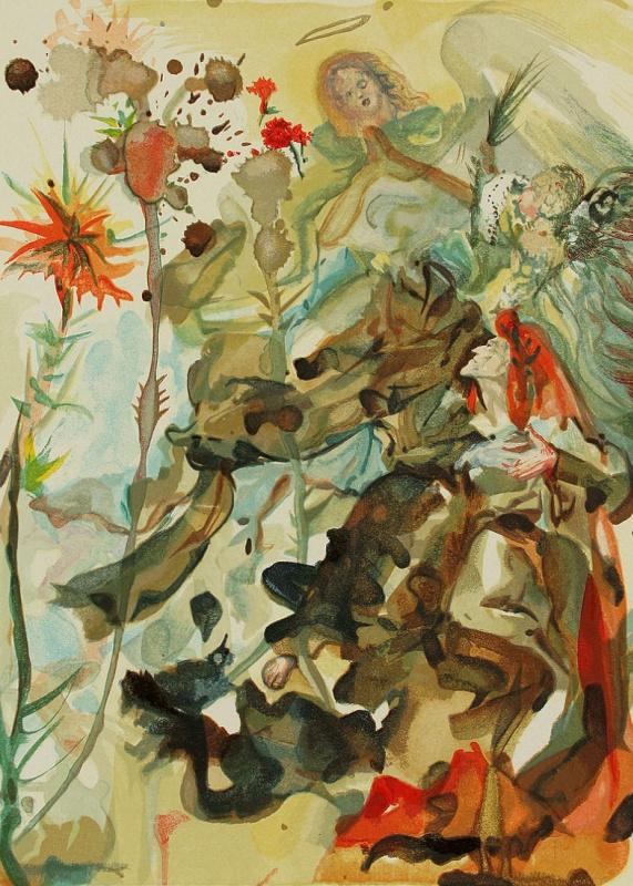 Salvador Dali. Saint James Illustrations for the Divine Comedy