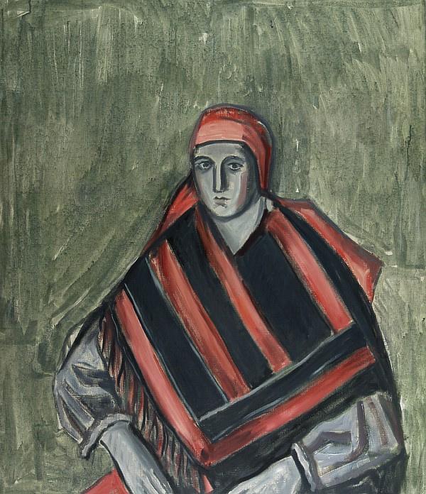 Андрей Владимирович Васнецов. Женщина в народном костюме