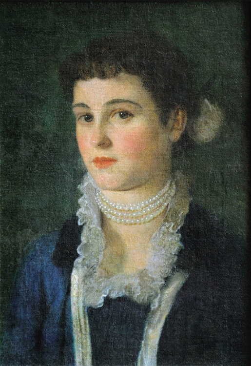 Gustav Klimt. Portrait Of Clara Klimt