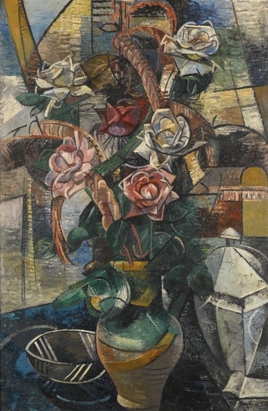 Auguste Erben. Roses