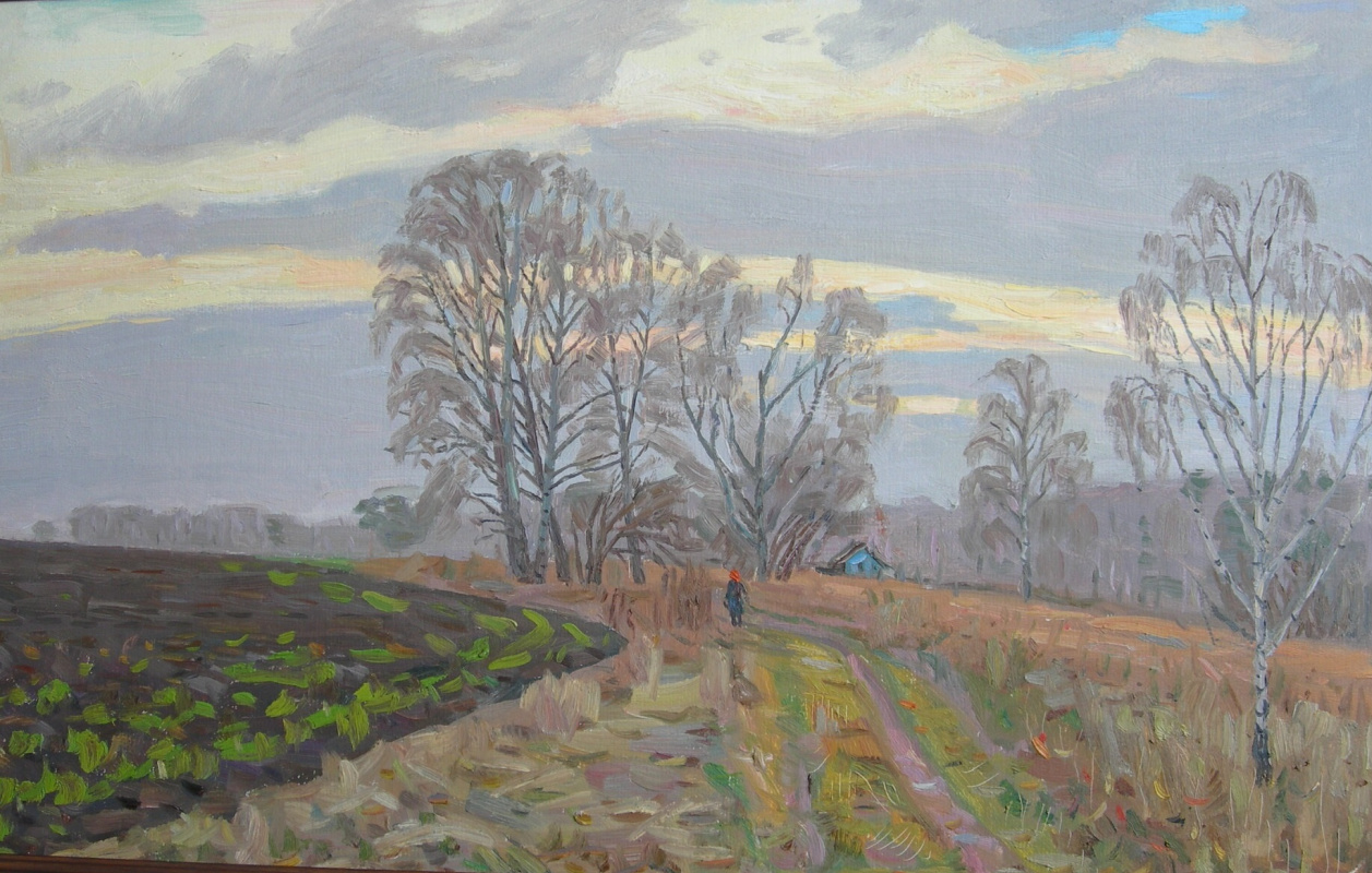 Eugene Alexandrovich Kazantsev. November. Evening.