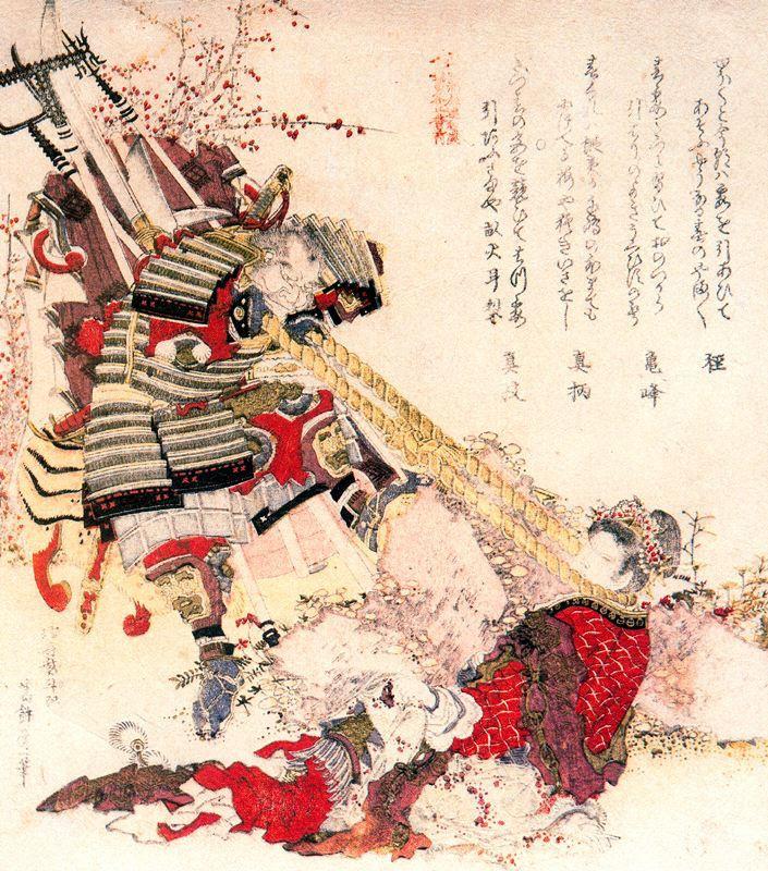Кацусика Хокусай. Японский и китайский герои