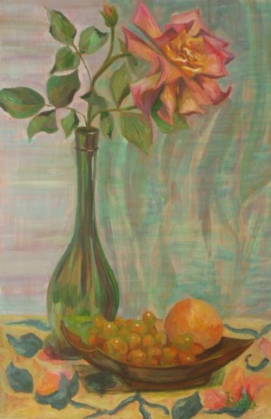 Larissa Lukaneva. Rose and peach