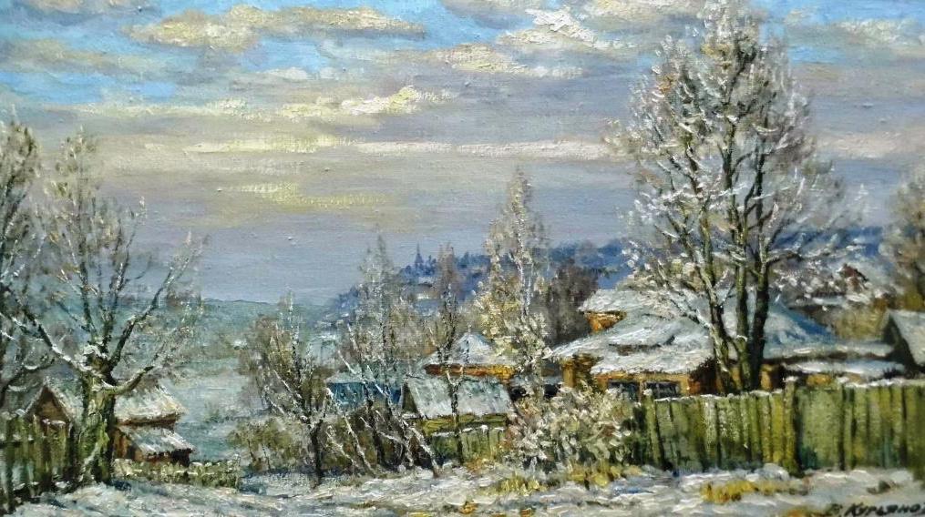 Victor Vladimirovich Kuryanov. Morning of Epiphany