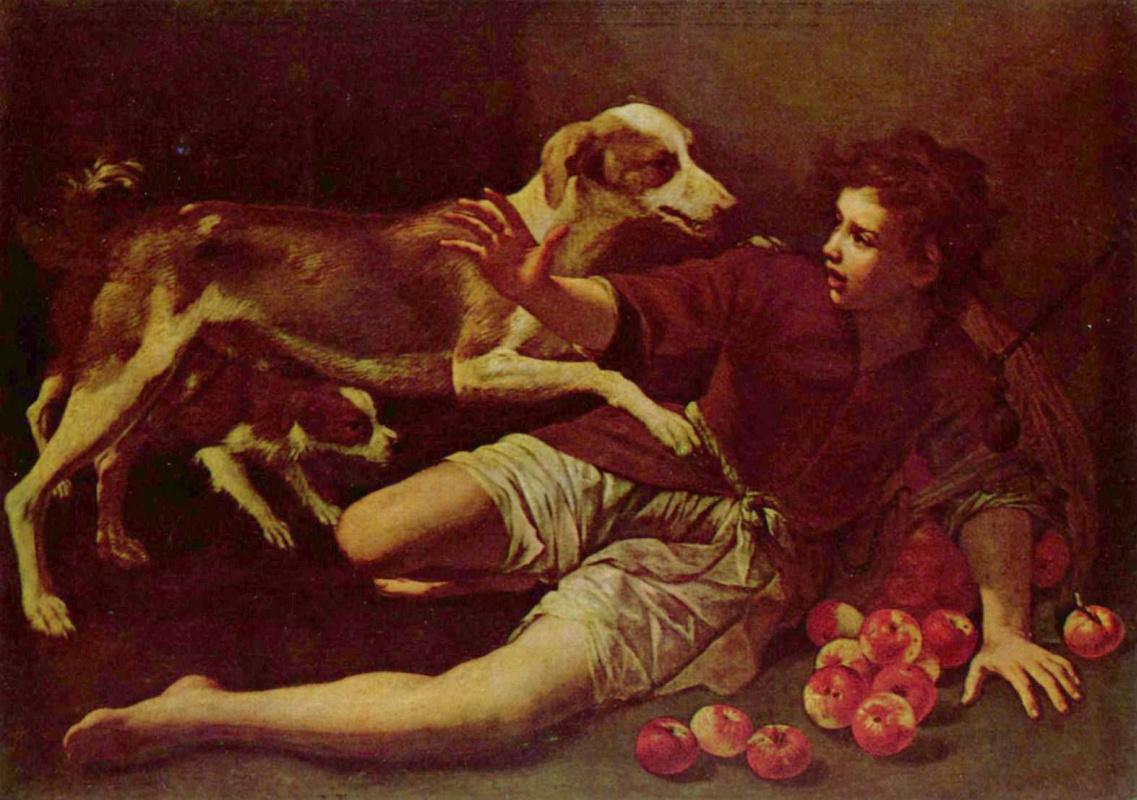 Pedro Núñez de Villavicencio. Scattered apples