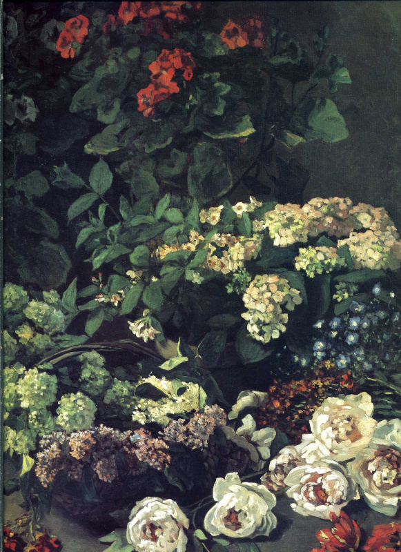 Claude Monet. Spring flowers