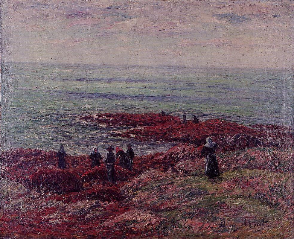 Henry Moret. Off the coast of Brittany