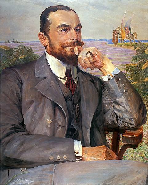 Jacek Malchevsky. Portrait of Ludwik Zelensky