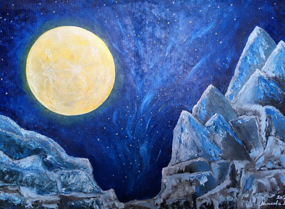 Elena Motkova. Lunar attraction