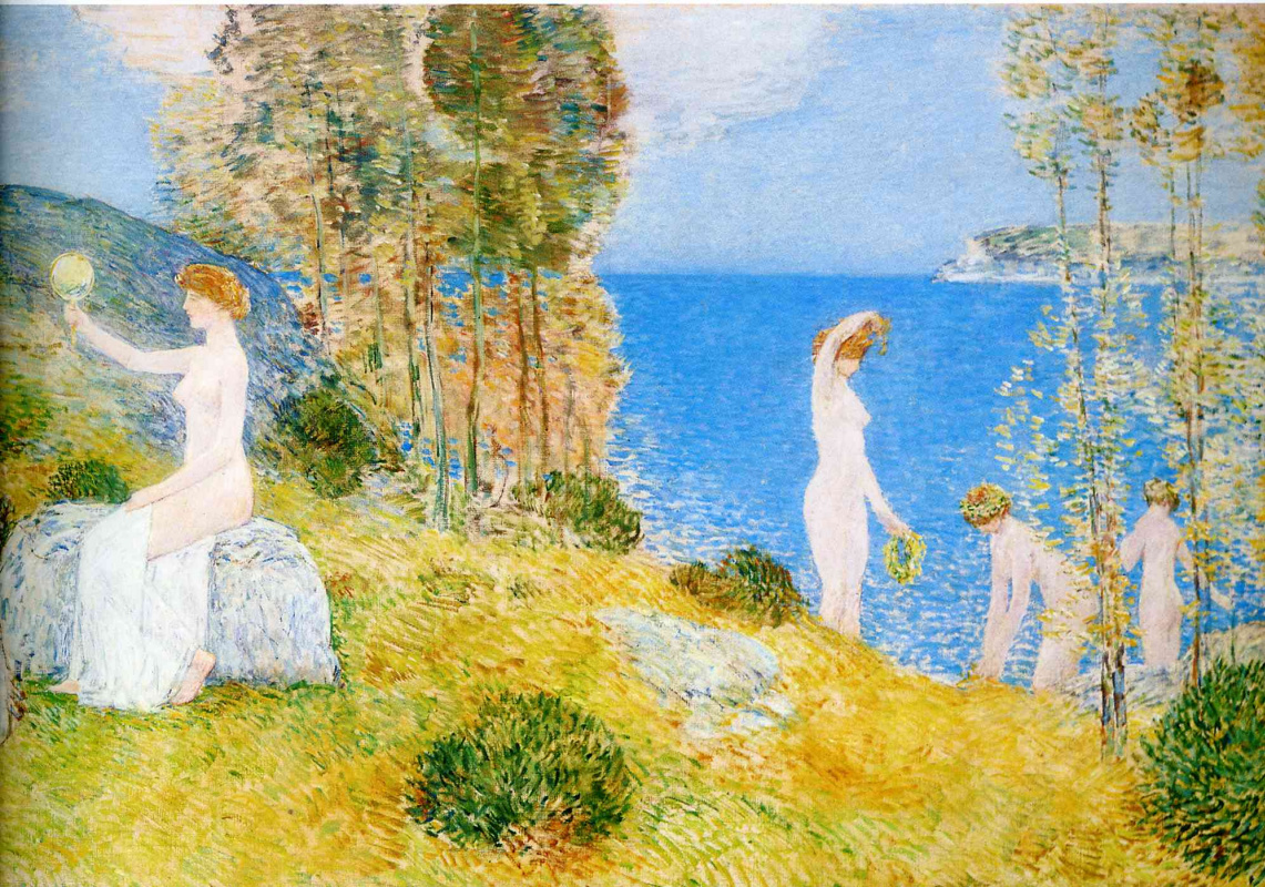 Childe Hassam. Bathers