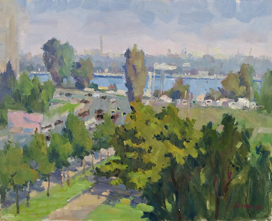Elena Viktorovna Szechen. City landscape