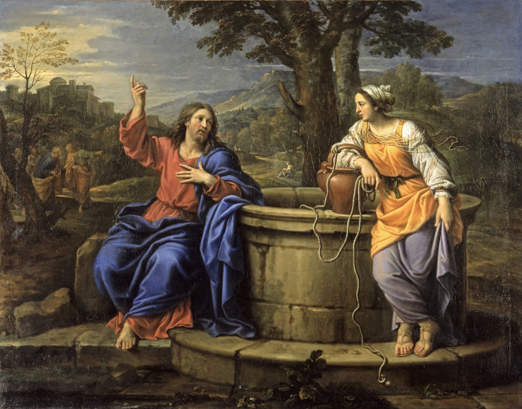 Pierre Minyar. Christ and the Samaritan Woman