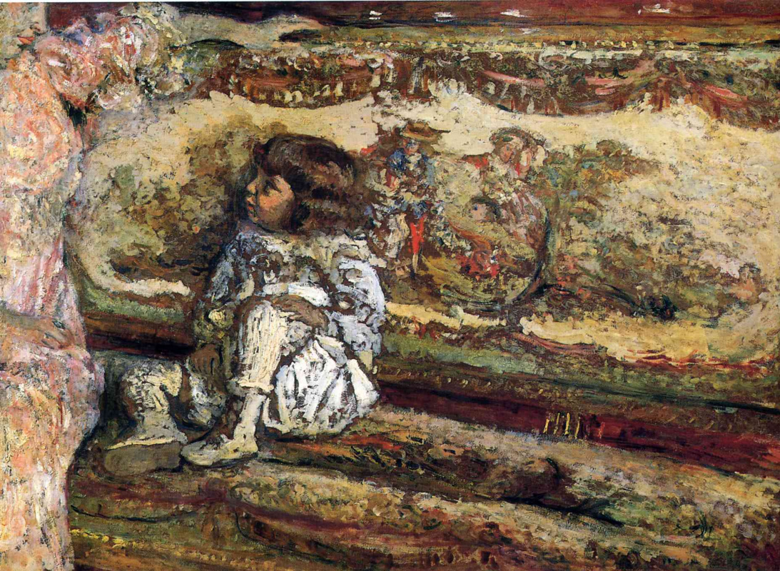 Жан Эдуар Вюйар. Клод Бернхайм де Виллерс. Портрет в детстве