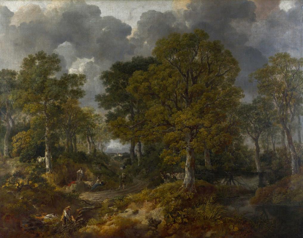 Thomas Gainsborough. Kornatsky forest