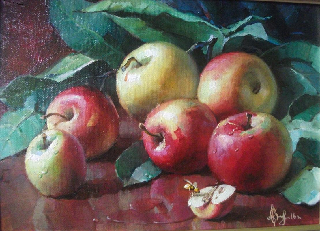 Sergey Anatolevich Bondaryuk. Still life with apples