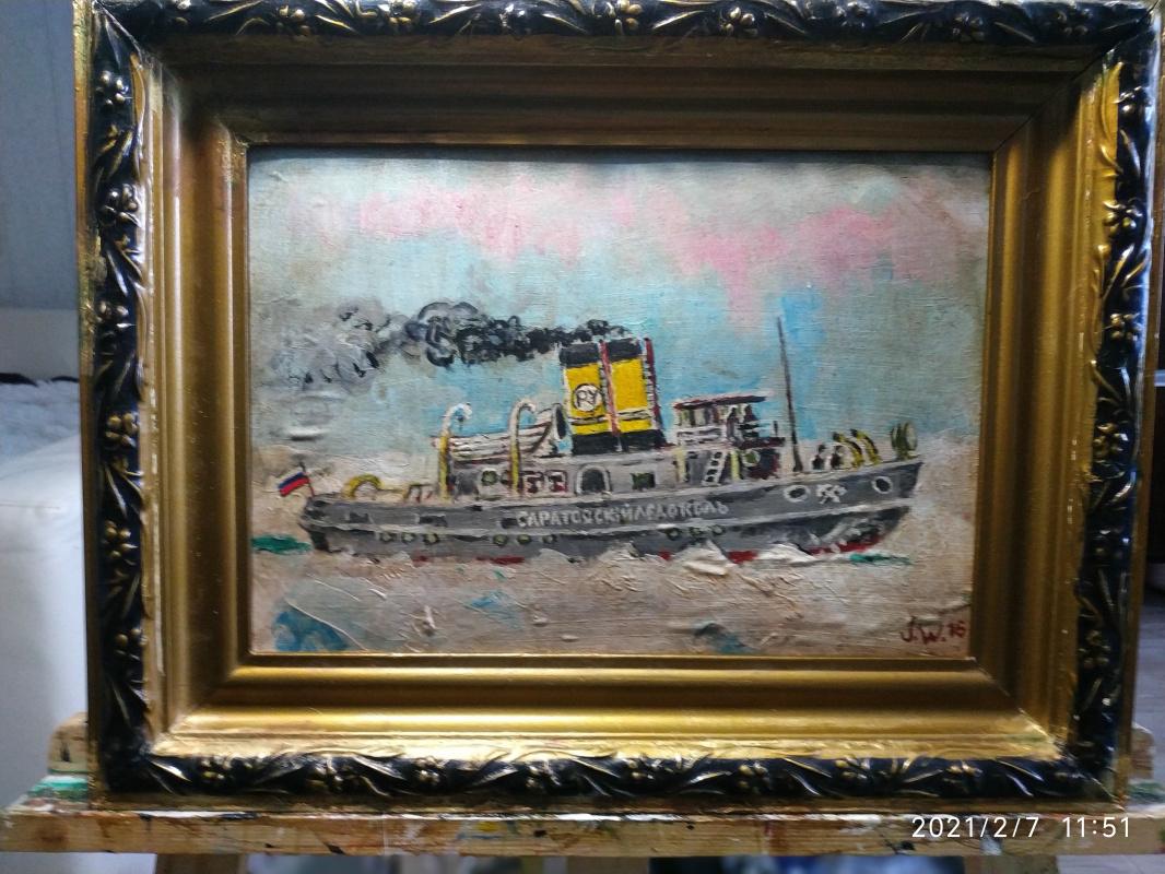Weilert. Saratov icebreaker