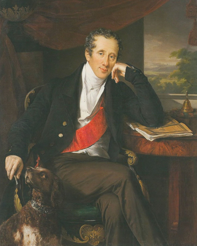 Vasily Andreevich Tropinin. Portrait of Count N. P. Panin