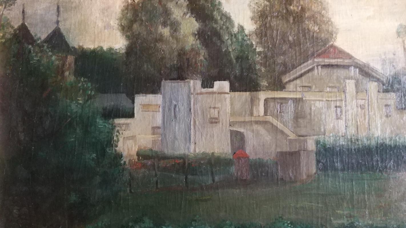 Edgardo Ribeiro. Untitled landscape