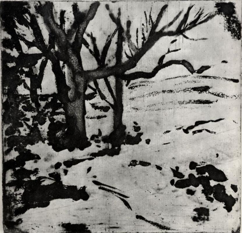 Эдгар Дега. Деревья