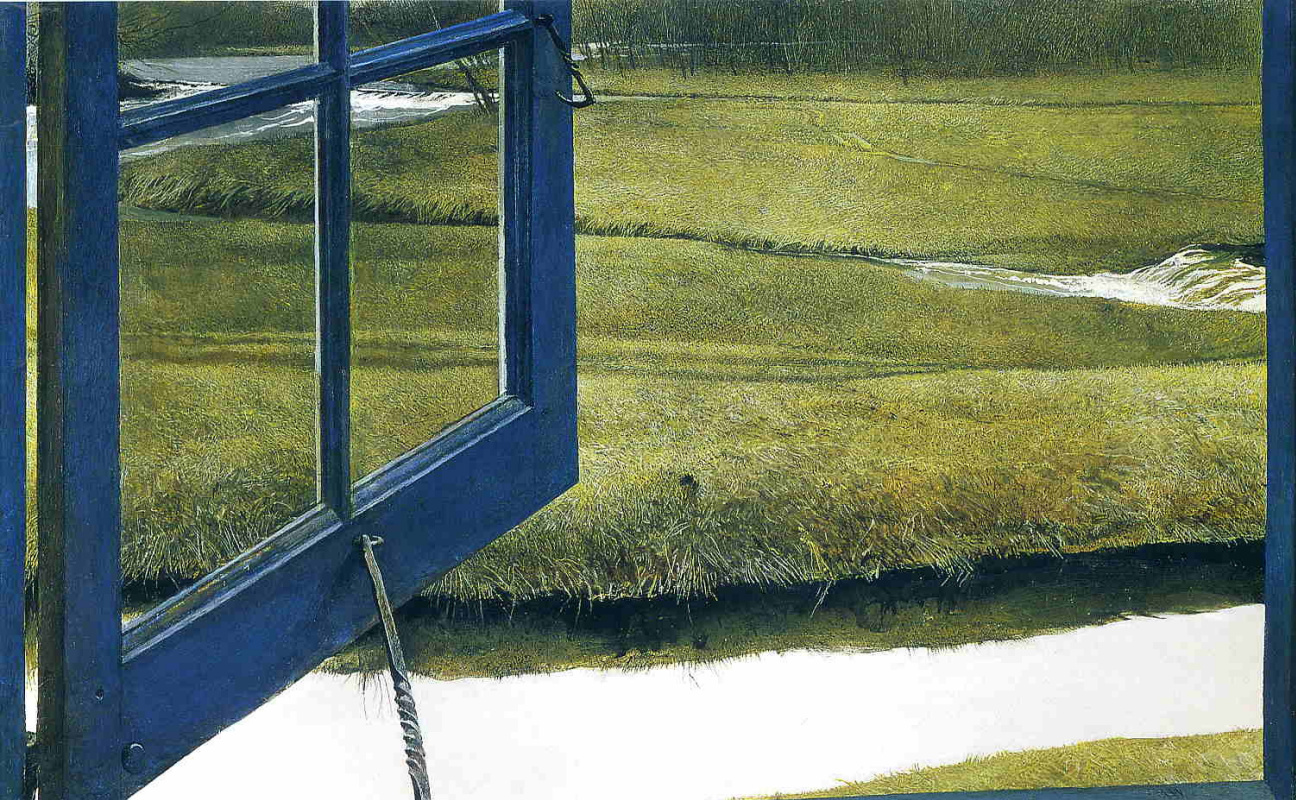 Andrew Wyeth. Midday love