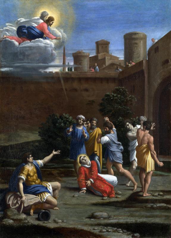 Антонио Карраччи. Мученичество святого Стефана