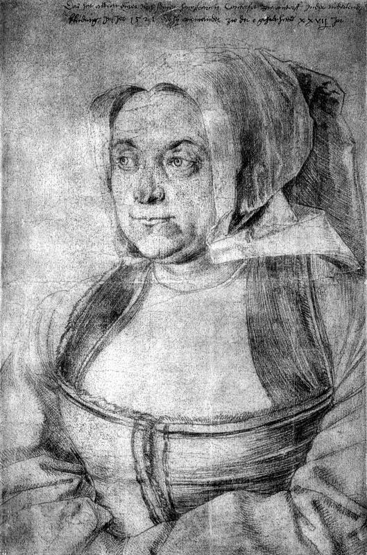 Albrecht Durer. Agnes Dürer